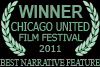 Winner Chicago United Film Festival